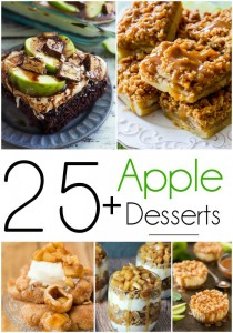 25+ Apple Dessert Recipes