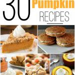 30+ Pumpkin Recipes