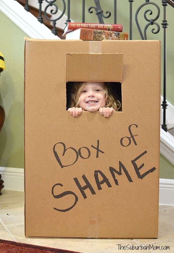 Box of Shame Photo Box