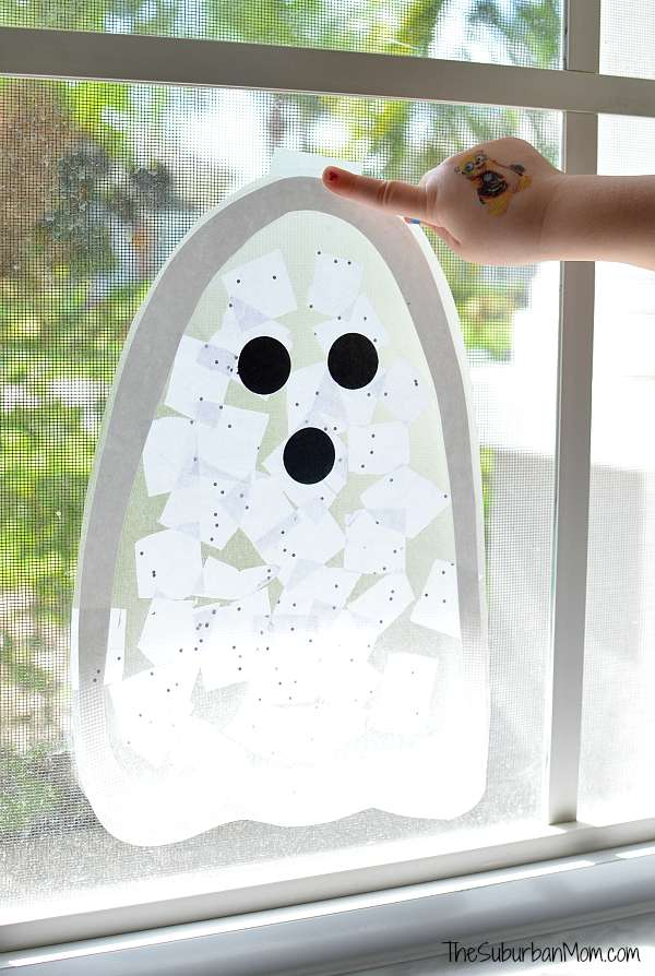 Halloween Ghost Craft