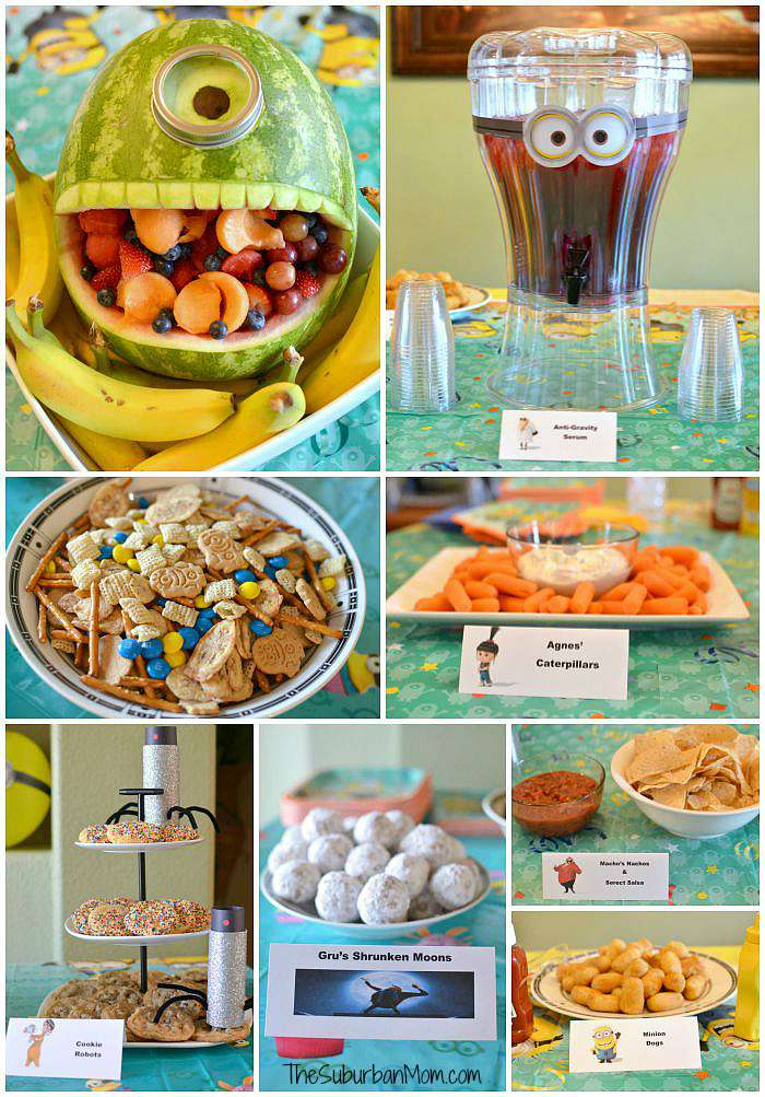 Minion Birthday Party Food Ideas