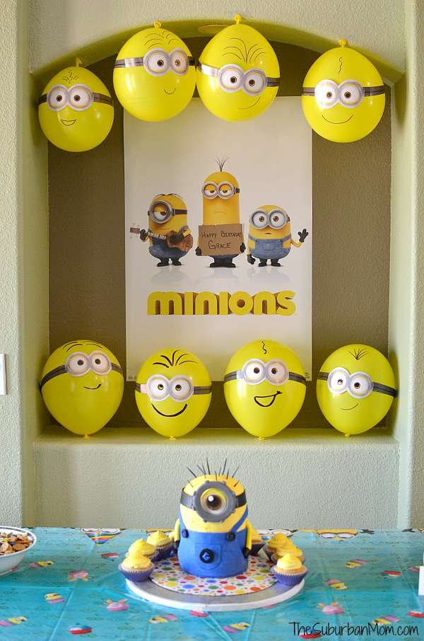 minion birthday party ideas. Black Bedroom Furniture Sets. Home Design Ideas