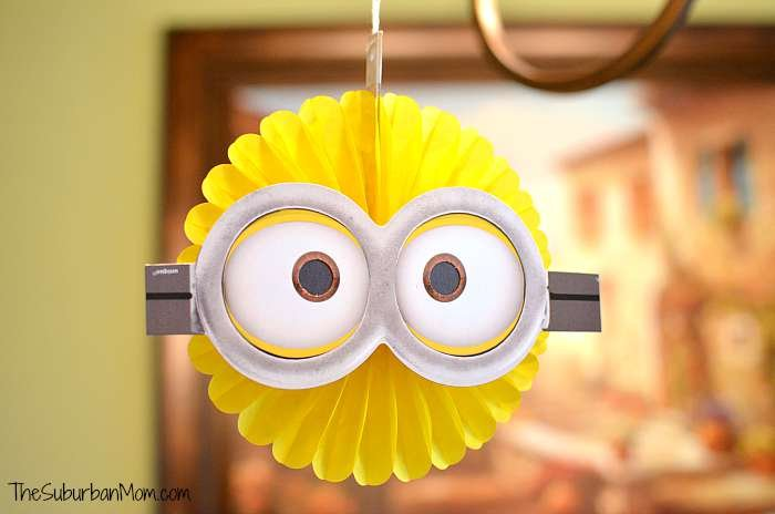 Minion Party Decoration