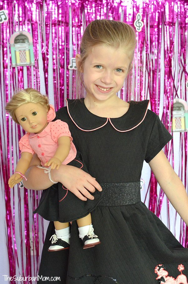 American Girl Sock Hop