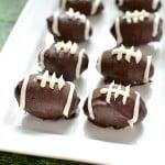 Dairy-Free Football Truffles
