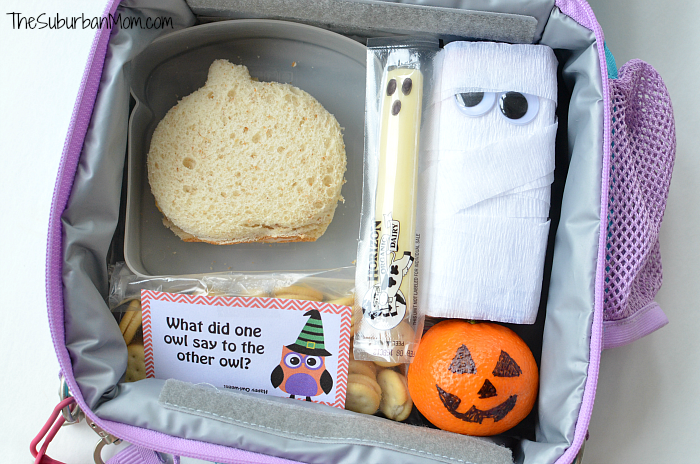 Halloween Lunch Box Ideas