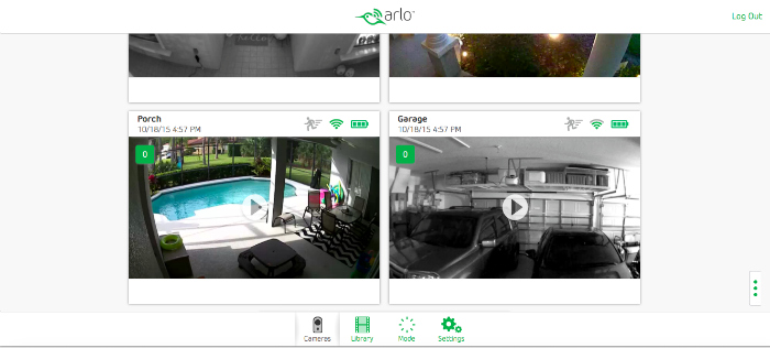 Netgear Arlo Wireless Home Security Cameras