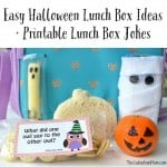 Easy Halloween Lunch Box Ideas + Printable Lunch Box Jokes