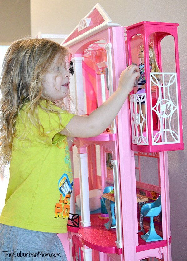 Barbie Dream House Elevator
