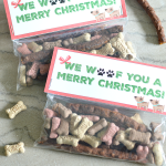 Dog Treat Christmas Gifts For Dogs ~ Free Printable
