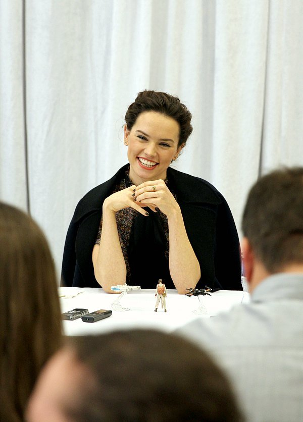 Daisy Ridley Star Wars Interview