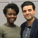 Lupita Nyong'o Oscar Issac Star Wars