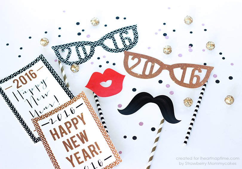 New Year Photo Props 2016