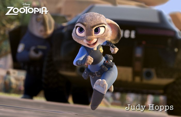 Disney Zootopia Judy Hoops