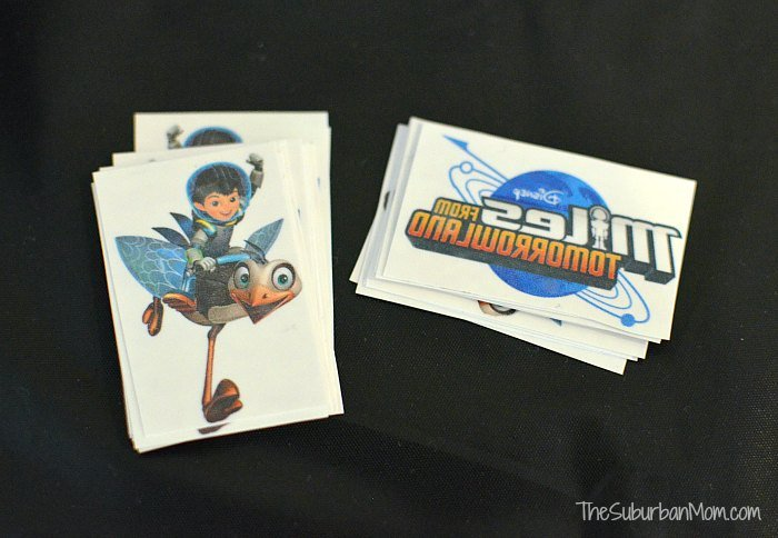 Miles from Tomorrowland Temporary Tattoo