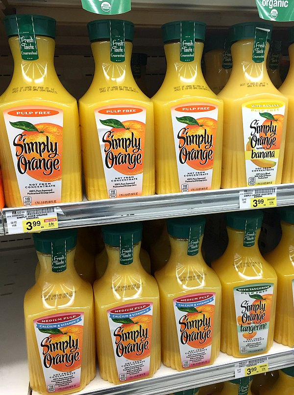 Simply Orange Albertsons