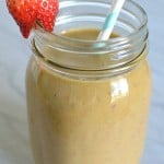 Strawberry Banana And Veggie Smoothie