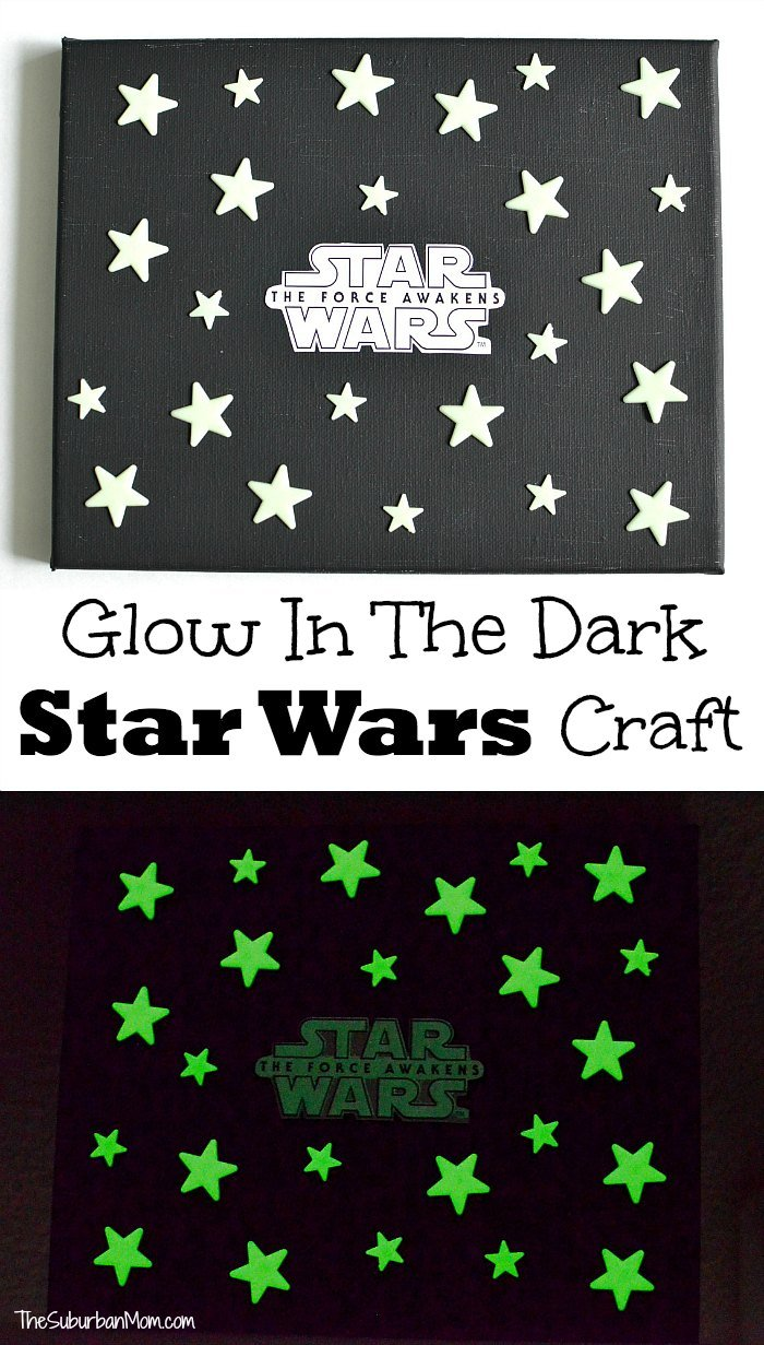 Glow in the Dark Star Wars Craft