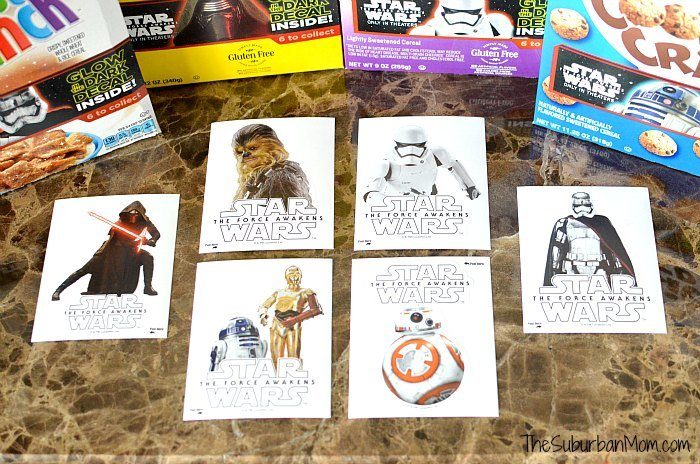 Glow in the Dark Star Wars Stickers