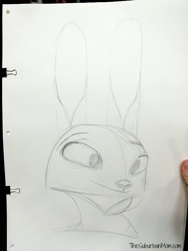 Learn to Draw Judy Hopps Zootopia