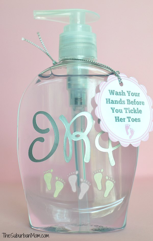 Soap Baby Gift Tag