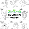 Creating 1,000 Creatures For Zootopia + Zootopia Coloring Pages