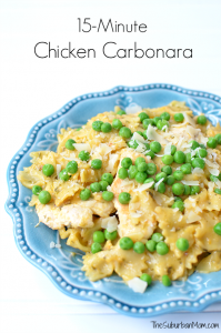 15-Minute Chicken Carbonara