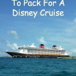 20 Things To Pack For A Disney Cruise