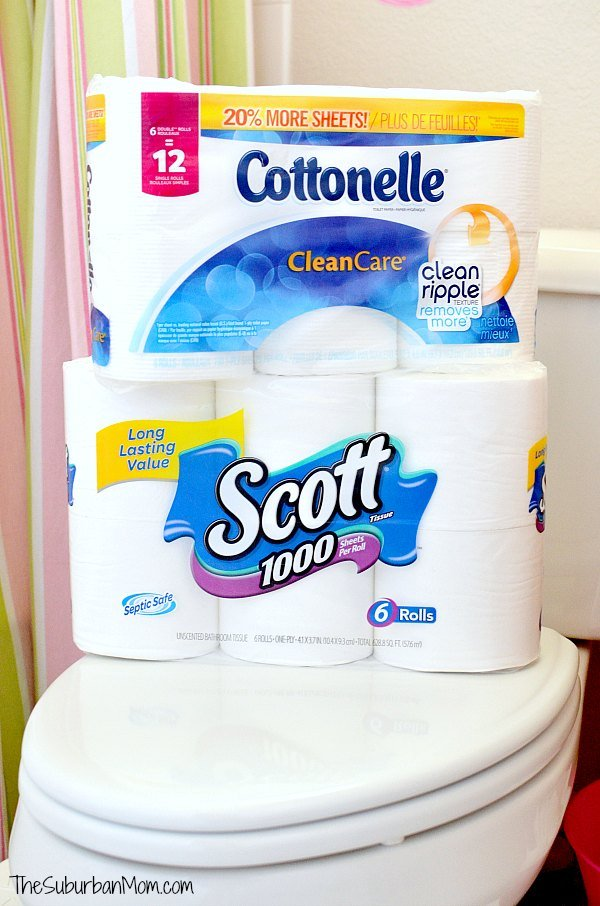 Cottonelle Scott Toilet Paper