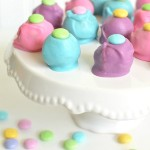 Easter Peanut Butter M&M's® Truffles With Printable Happy Easter Tag