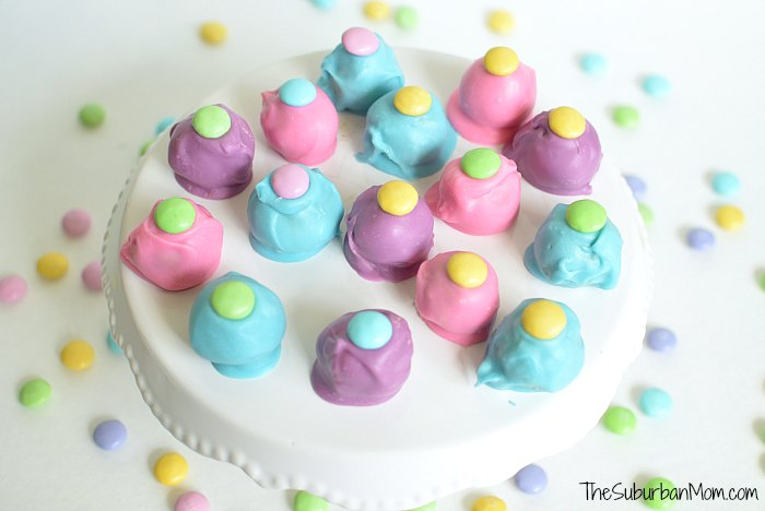 Easter Peanut Butter M&Ms Truffles Printable Happy Easter Tag