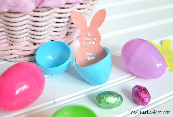 Printable Easter Egg Filler