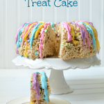 Rice Krispies Treat Cake