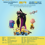 Amstar Cinemas 2016 Summer Kid Flicks Movie Schedule