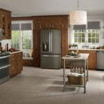 GE Slate Finish Appliances Provides New Options for Kitchens