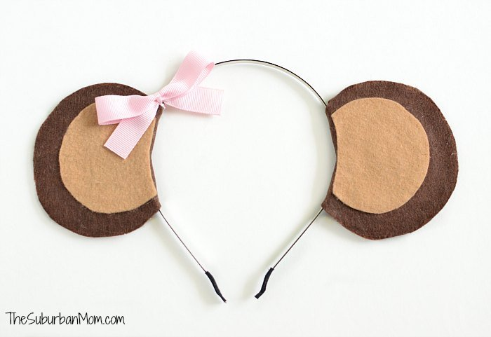 Girl Monkey Ears Headband
