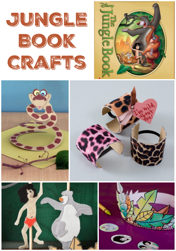 Image gallery jungle hats craft for Book craft ideas
