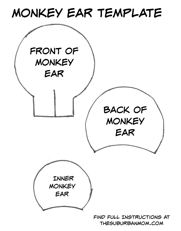 Diy Monkey Ears Headband Tutorial