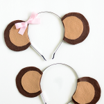 DIY Monkey Ears Headband