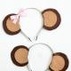 DIY Monkey Ears Headband