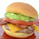 Bacon Cheese Guacamole Burger