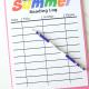 Kids Summer Reading Log Printable