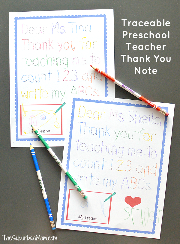 Short Thank You Letter For Teacher From Student