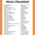 The Ultimate Disney Photo Checklist (Printable Checklist)