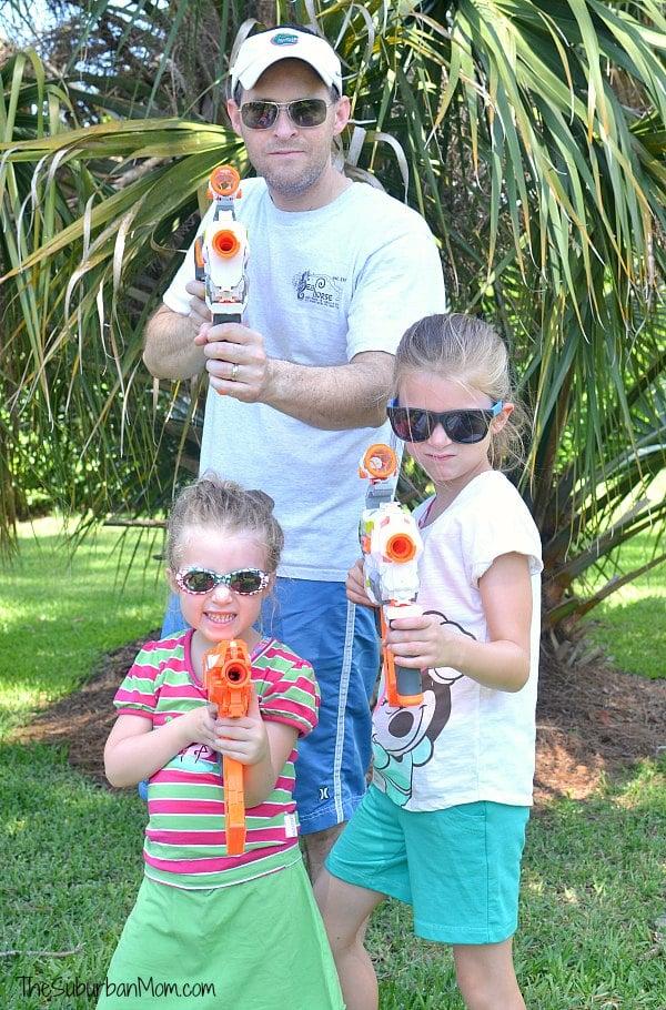 Family Nerf Blaster