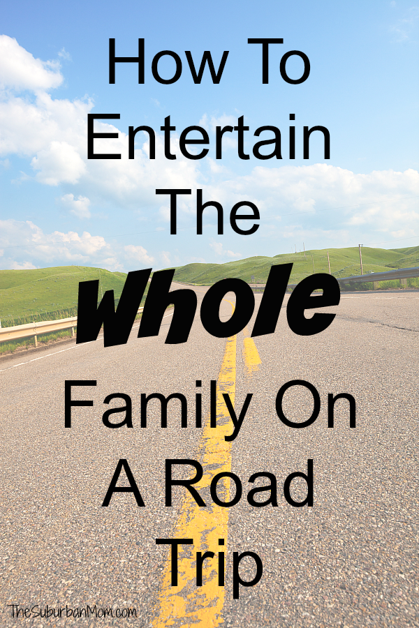 How To Entertain The Family On A Road Trip