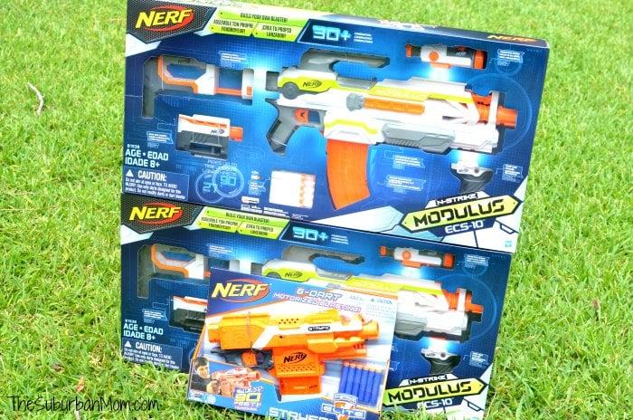 NERF N-Strike Elite Rampage Sonic Ice Series Blaster