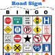 Road Trip Road Sign Bingo Free Printable