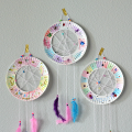 The BFG Paper Plate Dream Catchers Craft