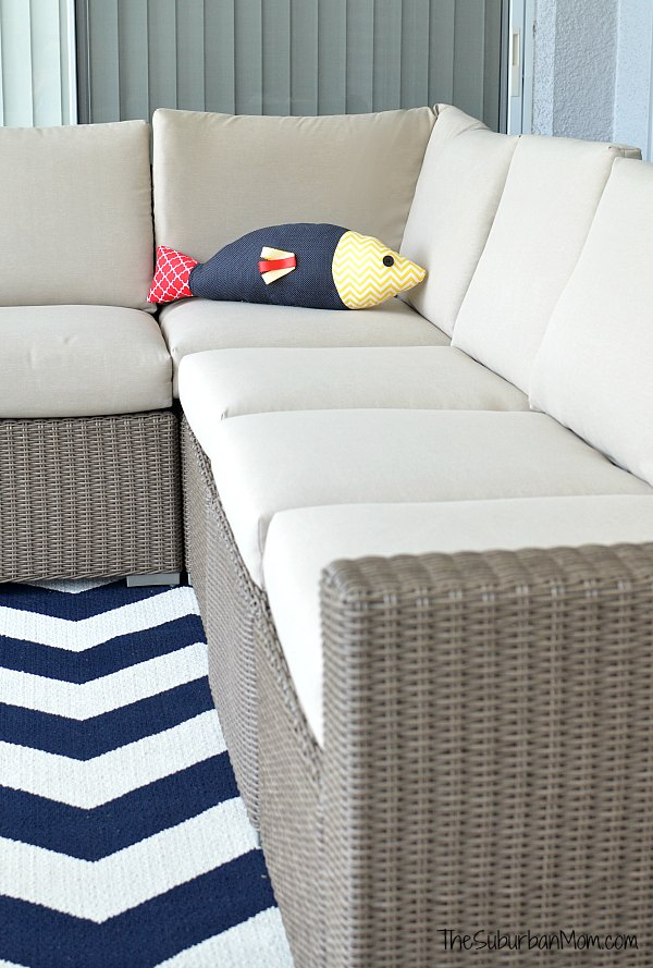 Fish Pillow Couch
